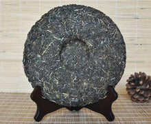"Load image into Gallery viewer, 2015 DaYi ""Pu Er Yuan"" (Origin of Puerh) Cake 357g Puerh Sheng Cha Raw Tea - King Tea Mall"