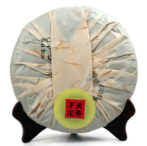 "2013 XiaGuan ""Yuan Ye"" (Original Leaf) Cake 357g Puerh Sheng Cha Raw Tea - King Tea Mall"