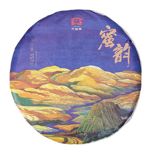"2019 DaYi ""Mi Yun"" (Honey Rhythm) Cake 357g / 150g Puerh Sheng Cha Raw Tea - King Tea Mall"