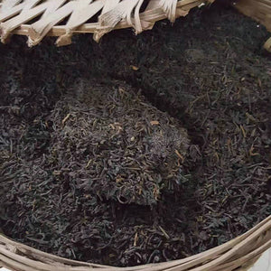 "90's SanHe ""Jin Hua Liu Bao""(Golden Flower Liubao ) Special Grade Loose Leaf Dark Tea Wuzhou, Guangxi - King Tea Mall"