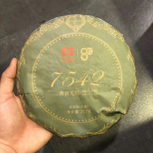 "Load image into Gallery viewer, 2020 DaYi ""7542"" Cake 357g Puerh Sheng Cha Raw Tea"