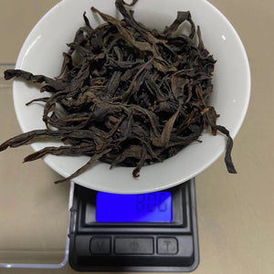 "Spring ""Que She""(Sparrow Tongue) Medium-Roasted A+ Grade Wuyi Yancha Oolong Tea"