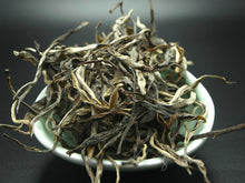 "Load image into Gallery viewer, 2018 KingTeaMall ""LAO MAN ER"" Spring GuShu Puerh Raw Tea Sheng Cha - King Tea Mall"