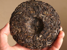 "Load image into Gallery viewer, 【Free Shipping】2018 KingTeaMall Spring ""ZI QI"" Cake 100g Puerh GuShu Sheng Cha Raw Tea - King Tea Mall"