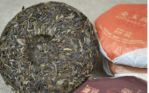 "2013 DaYi ""Wu Zi Deng Ke"" ( 5 Sons ) Cake 150g Puerh Sheng Cha Raw Tea - King Tea Mall"