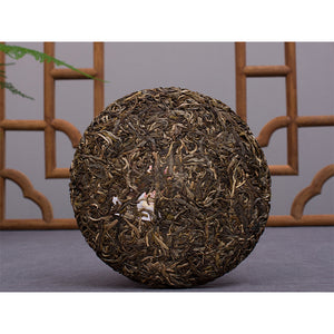 "2018 ChenShengHao ""Bu Lang Zhi Dian"" (Peak of Bulang) Cake 357g Puerh Raw Tea Sheng Cha - King Tea Mall"