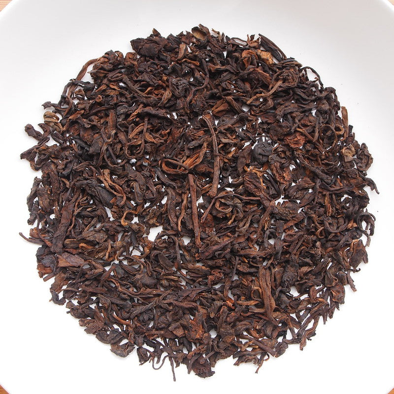 2017 KingTeaMall BuLang Loose Leaf Puerh Ripe Tea Shou Cha. - King Tea Mall