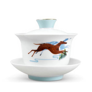 "Dayi Official ""Wang Shi"" (Zodiac Dog Year) Gaiwan around 150ml D9.5*H6cm - King Tea Mall"