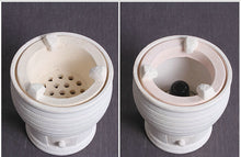 "Load image into Gallery viewer, Chaozhou White Mud ""Yu Shu Wei"" Charcoal / Alcohol Lamp Stove"
