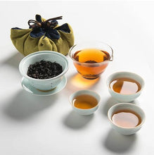 Load image into Gallery viewer, Portable Travel Porcelain Gongfu Tea Set - King Tea Mall