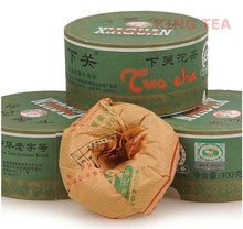 "Load image into Gallery viewer, 2013 XiaGuan ""Jia Ji"" Tuo 100g Puerh Sheng Cha Raw Tea - King Tea Mall"