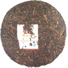 "Load image into Gallery viewer, 2009 DaYi ""8592"" Cake 357g Puerh Shou Cha Ripe Tea - King Tea Mall"