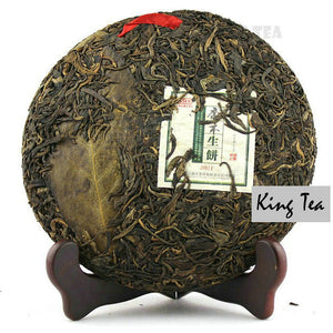 "2011 MengKu RongShi ""Qiao Mu Sheng Bing"" (Arbor Raw Cake) 400g Puerh Raw Tea Sheng Cha - King Tea Mall"