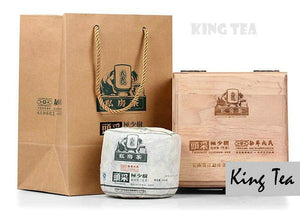 "2013 MengKu RongShi ""Tou Cai - Ji Shao Shu"" (1st Picking - Rare Tree) Cylinder 600g Puerh Raw Tea Sheng Cha - King Tea Mall"