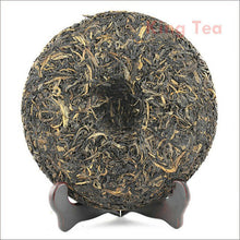 "Load image into Gallery viewer, 2009 MengKu RongShi ""Qiao Mu Wang"" (Arbor King) Cake 500g Puerh Raw Tea Sheng Cha - King Tea Mall"