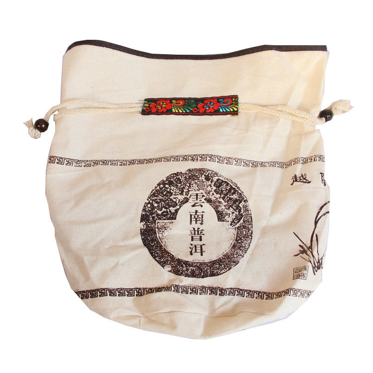 Cotton Bag Package For Storage of Puer Tea or White Tea Cake - King Tea Mall