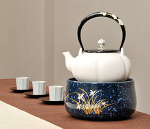 Load image into Gallery viewer, Chaozhou Pottery Water Boiling Kettle - King Tea Mall