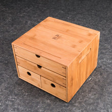 Load image into Gallery viewer, Bamboo Storage Case for Puerh / Tea Cake etc. - King Tea Mall