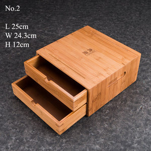 Bamboo Storage Case for Puerh / Tea Cake etc. - King Tea Mall