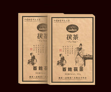 "Load image into Gallery viewer, 2012 XiangYi FuCha ""Bai Xing"" (People) Brick 380g Dark Tea Hunan - King Tea Mall"