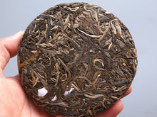 "Load image into Gallery viewer, 【Free Shipping】2018 KingTeaMall Spring ""LAO MAN ER"" GuShu 100g Cake Puerh Sheng Cha Raw Tea - King Tea Mall"