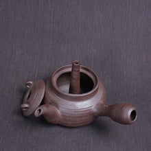 "Load image into Gallery viewer, Chaozhou Pottery ""Hollow"" Water Boiling Kettle - King Tea Mall"