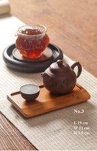 Load image into Gallery viewer, Bamboo Tea Tray / Saucer - King Tea Mall
