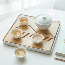 Load image into Gallery viewer, Light Tea Tray / Saucer / Board with Water Tank, 4 Variations - King Tea Mall