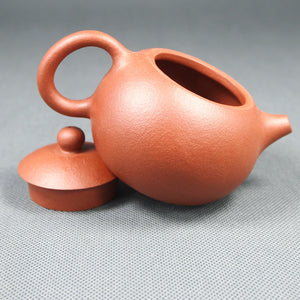 "Yixing ""Dao Ba Xi Shi"" Teapot 160cc ""Zhu Ni"" Mud - King Tea Mall"
