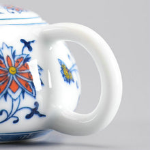 "Load image into Gallery viewer, Gong Dao Bei ""Qing Hua Ci"" (Blue and White Porcelain) Twining Lotus Pattern - King Tea Mall"