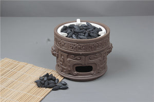 Olive Nut Shell Charcoal for Heating Water in Chinese Gongfu Chadao 500g/bag - King Tea Mall