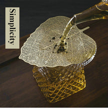 "Load image into Gallery viewer, Tea Strainer ""Leaf"" Stainless Steel Filter"