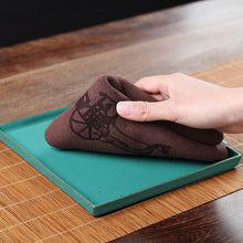 Load image into Gallery viewer, Tea Towel Napkin Brown L39cm * W30cm* Thickness 0.25cm