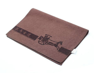 Tea Towel Napkin Brown L39cm * W30cm* Thickness 0.25cm - King Tea Mall