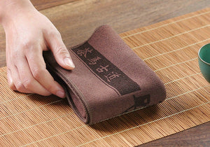Tea Towel Napkin Brown L39cm * W30cm* Thickness 0.25cm
