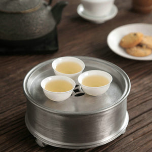 Tin Tea Tray / Saucer / Board, Chaozhou Gongfu Teaware - King Tea Mall