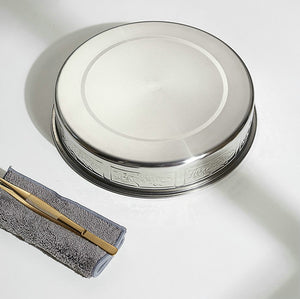 Stainless Steel Tea Tray / Saucer / Board with Water Tank 5 Variations - King Tea Mall