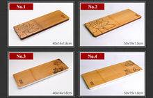 Load image into Gallery viewer, One Piece Bamboo Tea Tray 4 Variations