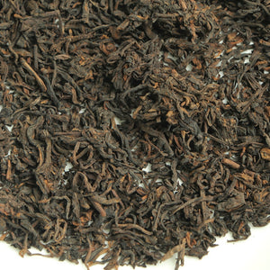 "2004 SanHe ""Jin Hua Liu Bao""(Golden Flower Liubao ) Special Grade Loose Leaf Dark Tea Wuzhou, Guangxi - King Tea Mall"