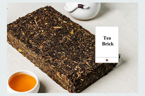 "2018 JingWei FuCha ""Qin Ling Zhi Dian"" (The Peak of Qingling Mountain) Brick 850g Dark Tea ShannXi - King Tea Mall"