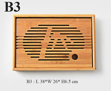 Load image into Gallery viewer, Bamboo Tea Tray with Water Tank 3 Variations - King Tea Mall