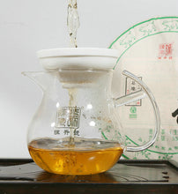 "Load image into Gallery viewer, 2019 ChenShengHao ""Yi Wu Da Shu"" (Yiwu Big Tree) Cake 357g Puerh Raw Tea Sheng Cha - King Tea Mall"