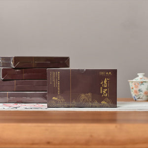 "2019 MengKu RongShi ""Bo Jun"" (Wish) Cake 12g Puerh Ripe Tea Shou Cha - King Tea Mall"