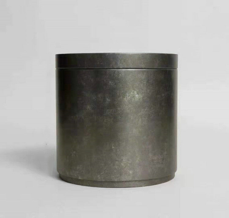 Tin Can for Storing Puerh / White Tea Cake / Loose Leaf - King Tea Mall