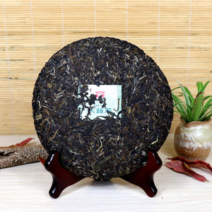 "2017 DaYi ""Wei Zui Yan"" (the Strongest Flavor) Cake 357g Puerh Sheng Cha Raw Tea - King Tea Mall"