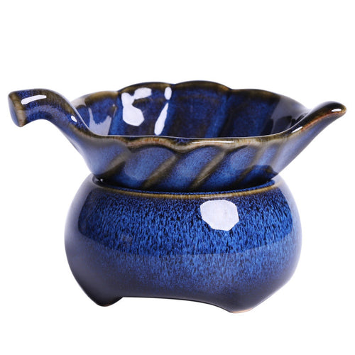 Jianzhan Rabbit Hair Blue Gaiwan 170 cc / Pitcher / Strainer / Tea Cup, KTM010