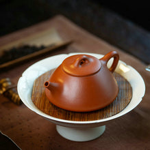 "Load image into Gallery viewer, Yixing ""Shi Piao"" Teapot 150cc ""Zhao Zhuang Zhu Ni"" Mud - King Tea Mall"