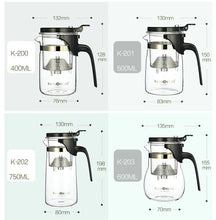 "Load image into Gallery viewer, KAMJOVE Tea Infusers Teapot "" Piao Yi Bei ""  ( 200ml~) - King Tea Mall"