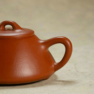 "Yixing ""Shi Piao"" Teapot 150cc ""Zhao Zhuang Zhu Ni"" Mud - King Tea Mall"