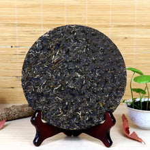"Load image into Gallery viewer, 2017 XiaGuan ""Liu Xing Zhen Cang"" (Valuable 6 Stars) Cake 357g Puerh Raw Tea Sheng Cha - King Tea Mall"